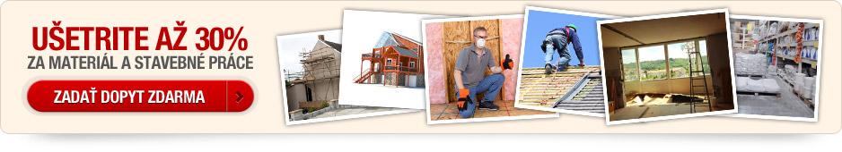 U�etrite za materi�l a stavebn� pr�ce