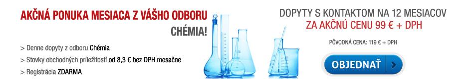Akčná ponuka - dopyty s kontaktom Chémia